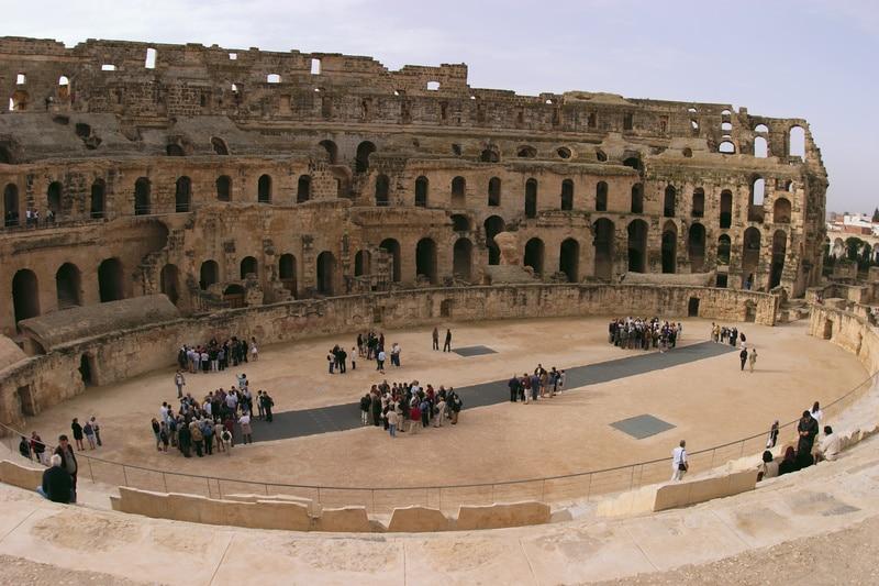 El Jem Amphitheatre Sousse
