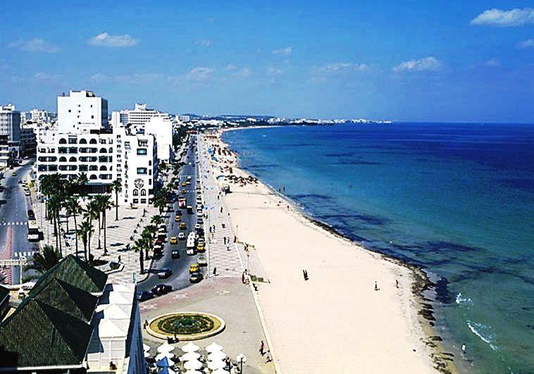La corniche Sousse