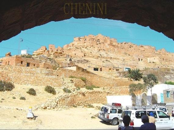 Le Sud tunisien : Chenini